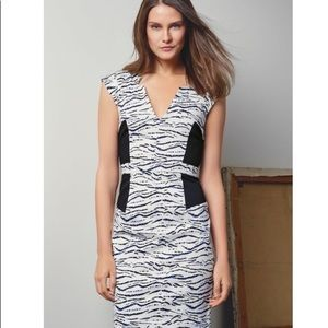 NWT French Connection Tapir Wave Dress